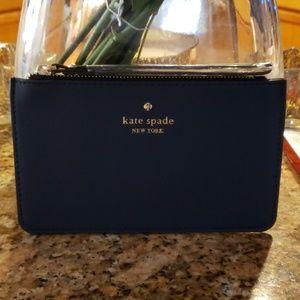 Kate Spade Wristlet - Navy blue